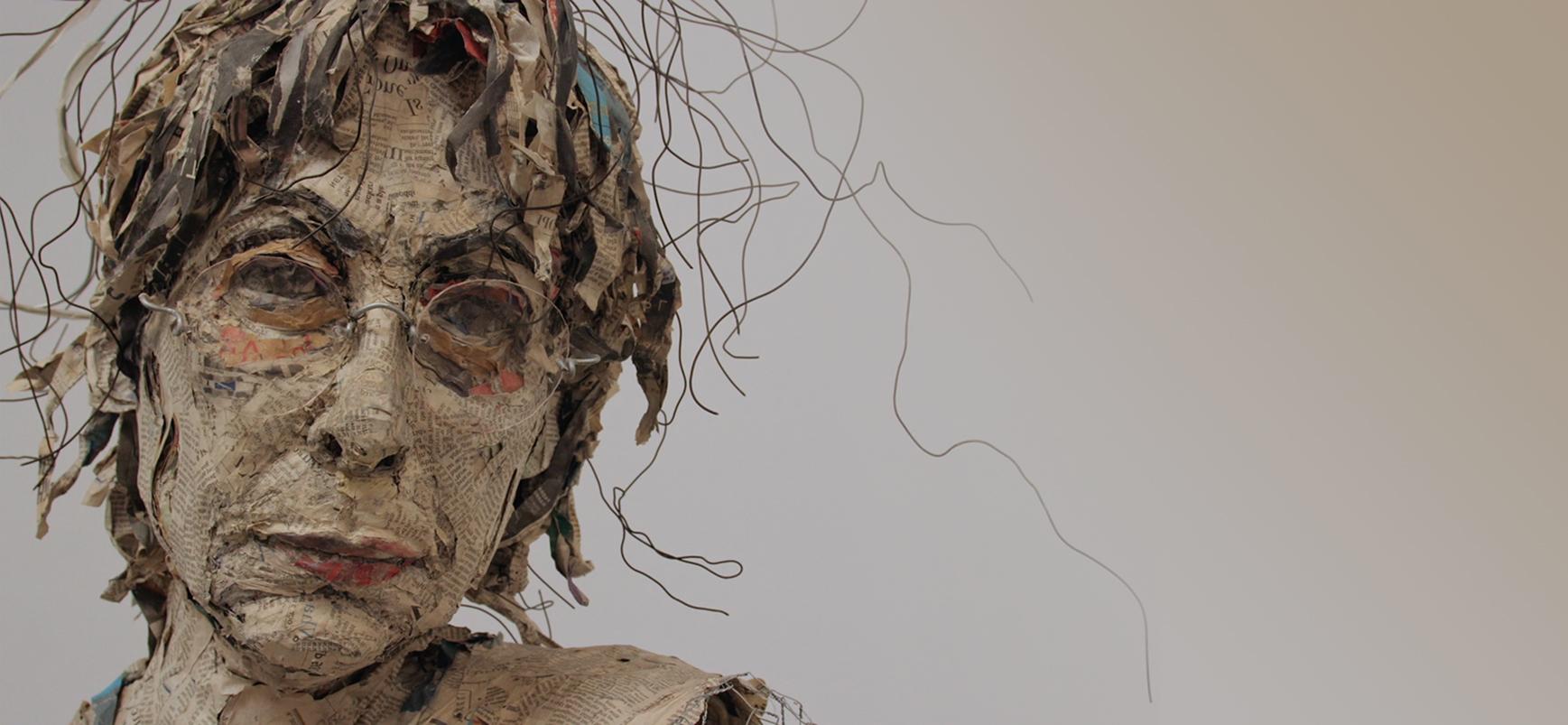 Mindy Sculpture (Self-Portrait)